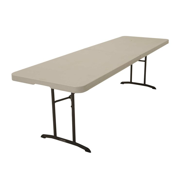 80075 Lifetime 8 Foot Commercial Fold In Half Table