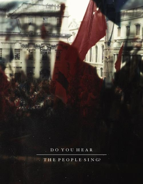Les Mis (2012) | 'Do You Hear the People Sing?' Poster.