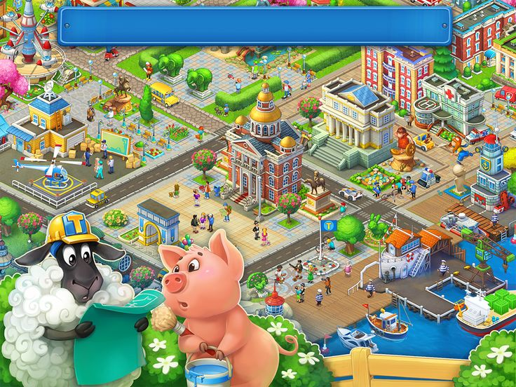 Screenshots for Township on Behance