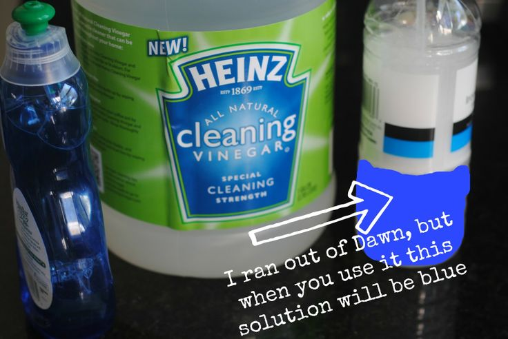 Top Secret Tricks for Cleaning with Vinegar-- have used vinegar for a long time, but I want to try this Heinz cleaning vinegar-20% more cleaning power? -Also, for cleaning tub mix vinegar and dawn?