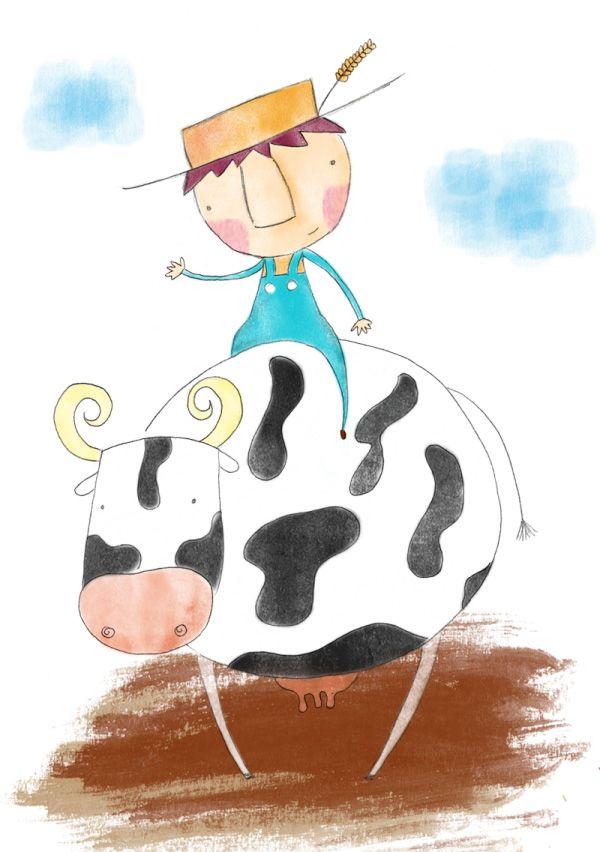 Cuento en inglés: Cows don't go to school Cuento a la vista: Cows don't go to school. Un cuento en inglés para niños sobre un niño que decide llevar a su amiga vaca al colegio. Un cuento para niños divertido y original.