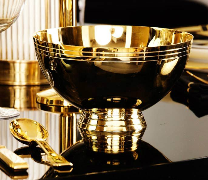 Ralph Lauren Home #One_Fifth Collection 4   Golden Plated Bowl