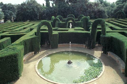 Parc del Laberint d'Horta, Barcelona