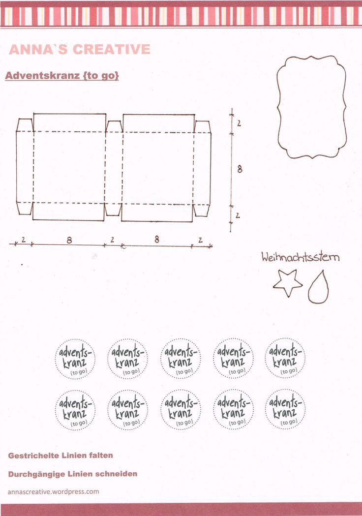 Fantastisch Geschenkschachteln Aus Papier Vorlagen Ideen - Bilder ...