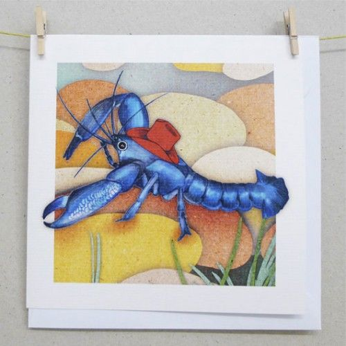 Cards - Blue Pearl Yabby