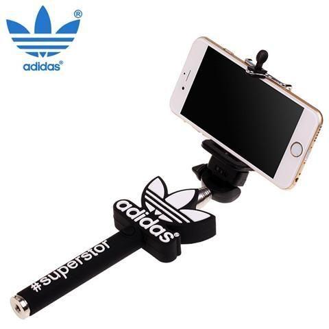 アディダスAdidas iphone7 iphone6s plus 自撮り棒 お勧め セルフィースティック スポーツ風 メンズ・レディース兼用