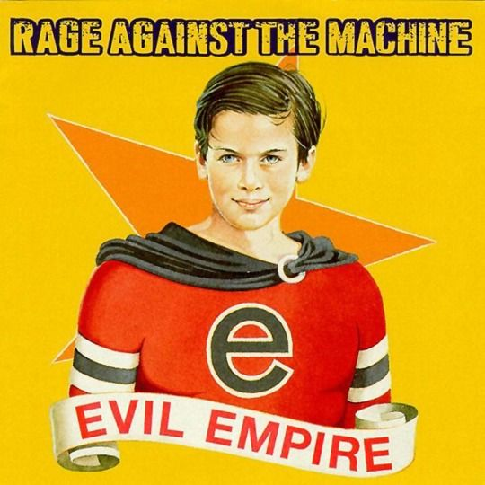 Krétavasfestékszívószál Rage Against The Machine  evil empire music 1996 rap metal alternative metal funk metal