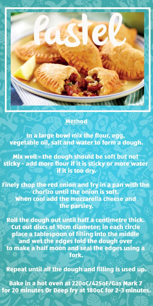 Want to know how to make delicious Brazilian street food? Our Pastel recipe is a great place to start :)