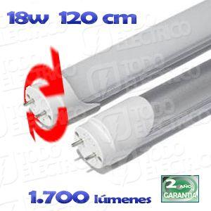 Tubo led T-8 LED 18W 120cm 6000k orientable