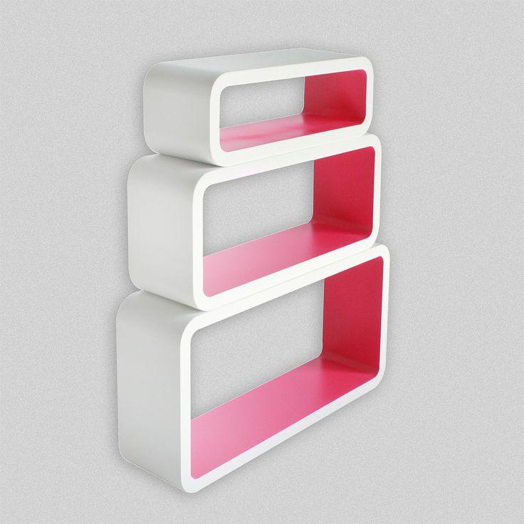Набор из 3-х полок Crimson Cubes