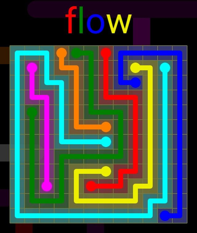 Flow Extreme Pack 2 - 12x12 - level 20 solution