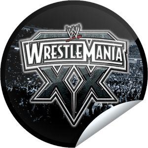 Countdown to WrestleMania: WrestleMania XX Sticker   GetGlue