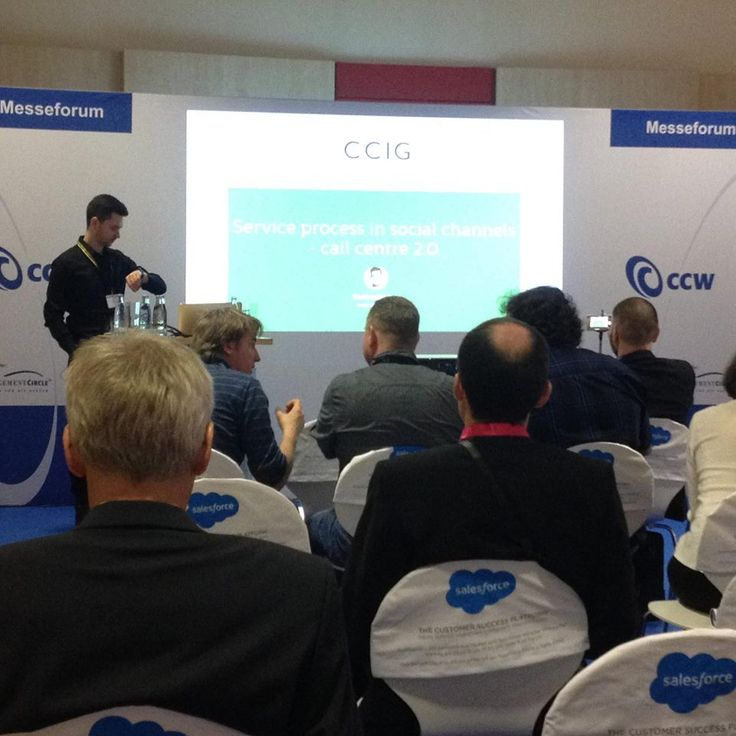 Wystąpienie Bartka dla naszego klienta CCIG w Berlinie na konferencji #CCW2015.