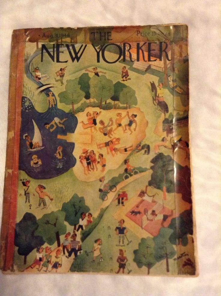 New Yorker Magagine, August 31, 1946. John Hersey's Hiroshima. 1st printing.    eBay