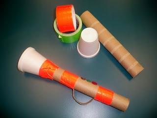 Paper Towel Roll Trumpet
