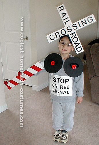 Train crossing costume