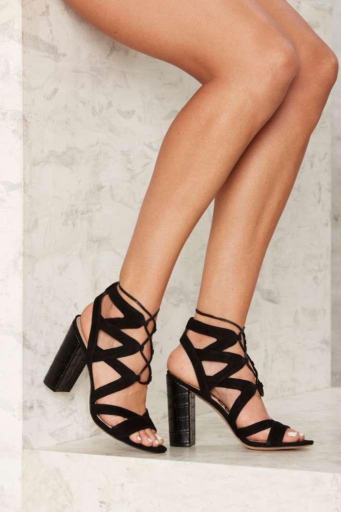 Sam Edelman Yardley Suede Heel - Black - Heels | Platforms | Sale: Newly  Added