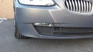 Completed BMW bumper repair | Mobile bumper & scratch repair at Auto Cosmetic Solutions