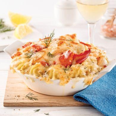 Gratin de homard façon Saint-Jacques - Recettes - Cuisine et nutrition - Pratico Pratique