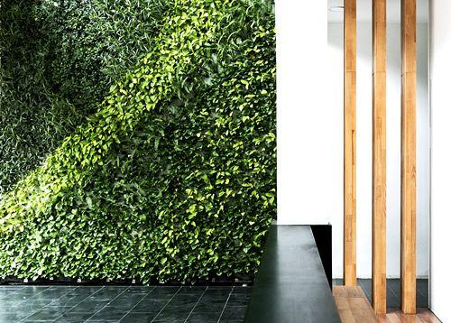 M s de 1000 ideas sobre muros verdes en pinterest - Muros sinteticos decorativos ...