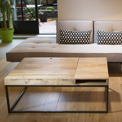 17 best ideas about table basse en bois on pinterest for Table basse double plateau scandinave