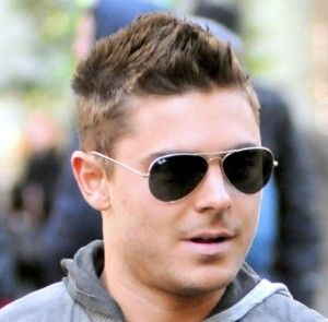 ray ban aviator 55  Zac Efron ray ban aviator sunglasses