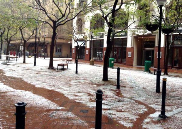 Hectic Hail in CT | www.iol.co.za