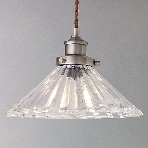 Buy John Lewis Phineas Resto Glass Pendant Online at johnlewis.com