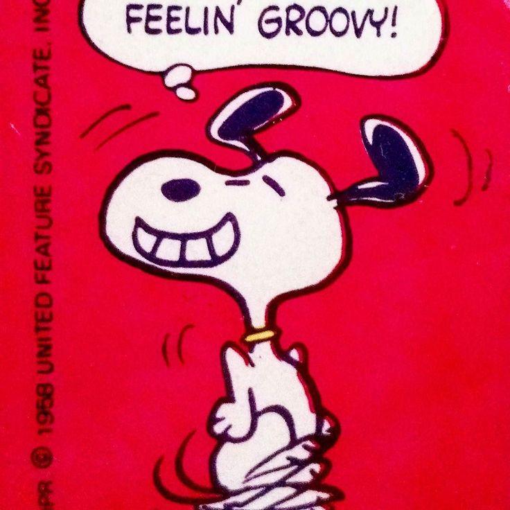 CollectPeanuts.com on Instagram - Feelin' groovy! #Snoopy #peanuts #groovy #collectpeanuts #snoopygrams #snoopyfan #snoopylove #vintagesnoopy #ilovesnoopy
