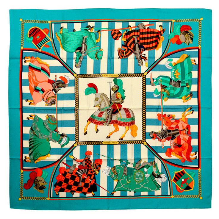 Gorgeous Hermes Chocs En Plumes Silk Scarf   From a collection of rare vintage scarves at https://www.1stdibs.com/fashion/accessories/scarves/