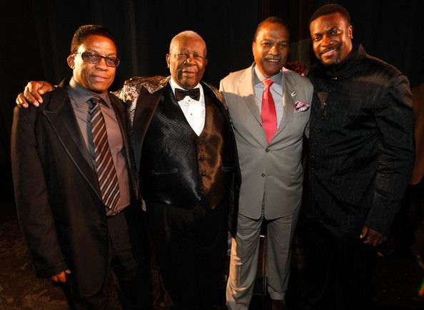 Herbie Hancock, B.B. King Billy Dee Williams & Chris Tucker