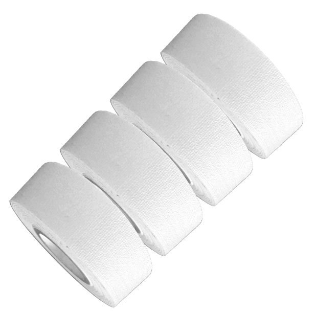 Mini Gaffer Tape Rolls by GafferPower 1in x 8yds Made In The USA - WHITE