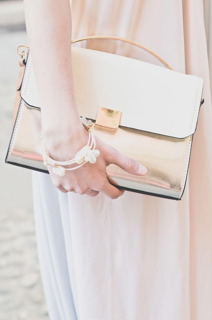 Metal Shimmer Bag