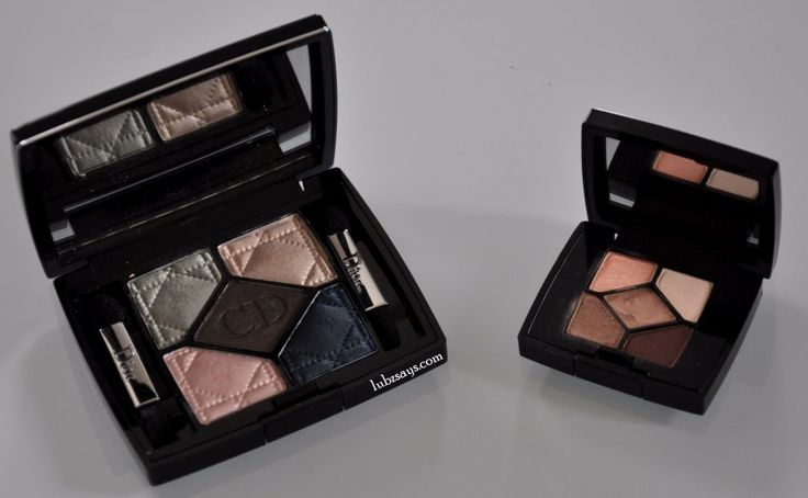 Review: Dior 5 Couleur Palettes The shadows are incredibly smooth, pigmented and blend well. You don't have to spend a long time blending your shadows. The selection of colours within the palette can be worn on their own or blended to create a beautiful smokey eye.  Visit the blog to read more.