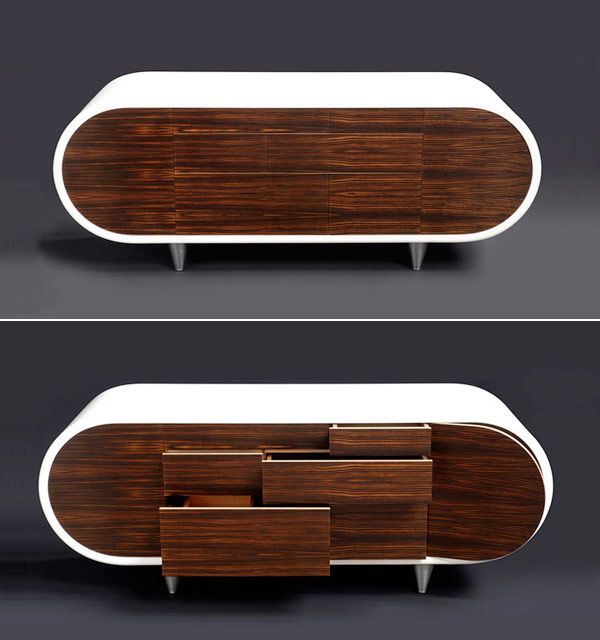J'adore!!! I just love the oblong shape. These mod units just look like they are hovering over the floor. Want want want!