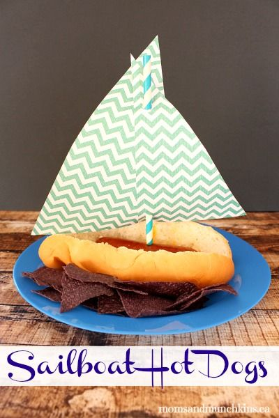 Sailboat Hot Dogs #Sailor