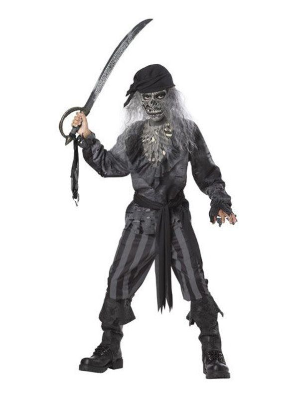 Check out Ghost Ship Pirate Costume - Boys Horror Halloween Costumes from Costume Super Center