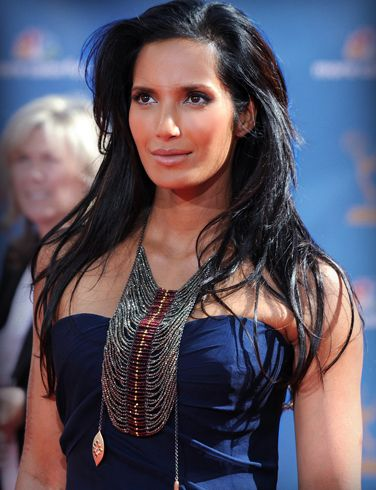 Padma Lakshmi. I will be her one day.