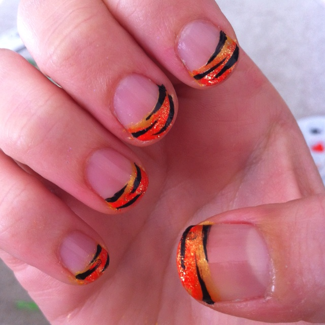 I just painted my nails!