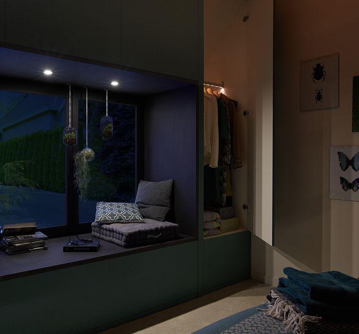 merlin garage hall diy corner - Amenager Une Chambre Dans Un Garage