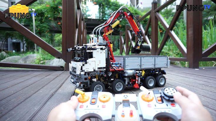 Lego Technic 42043 Rc Motorized Mercedes Benz Arocs 3245