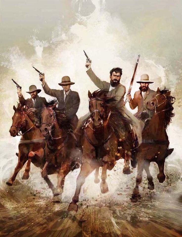 Ned Kelly's Gang Ride Again by michaeljameswilkin on DeviantArt