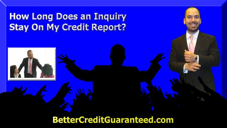 Credit Inquiries have always seemed like a mystery. How long do inquiries stay on your credit report? Watch this 54 second video to see the answer!