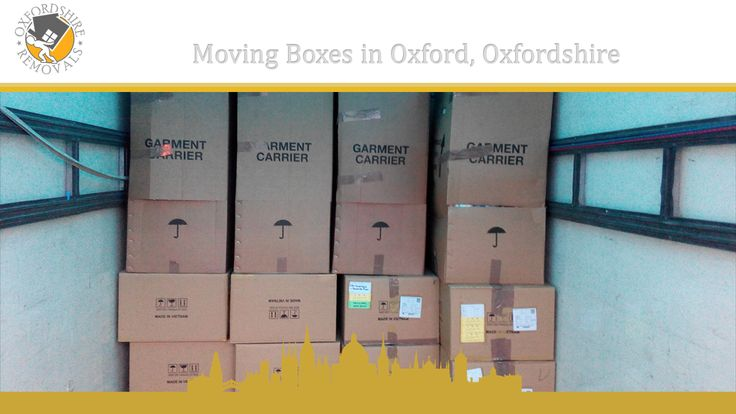 Moving Boxes in Oxford, Oxfordshire