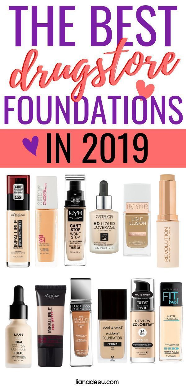 The 25 Best Drugstore Foundations in 2019 Check ou…