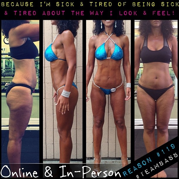 12 week transformation by, Michele D'Angona: IFBB Pro ...