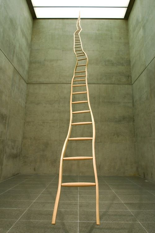atavus:  Martin Puryear - Ladder for Booker T. Washington, 1996