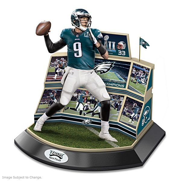 Eagles Super Bowl Lii Championship Moments Sculpture Philadelphia Eagles Eagles Eagles Nfl