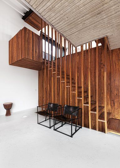 PROJECT.KLM - Enschede, Netherlands by Project.DWG  #interiors #staircase #design #wood