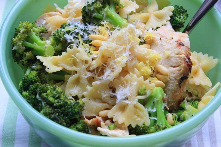Lemon Chicken with Broccoli and Bowties - Ina Garten